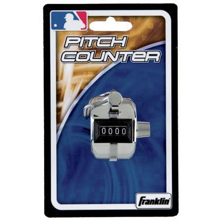 Pitch Counters franklin sports mlb pitch tally counter for baseball