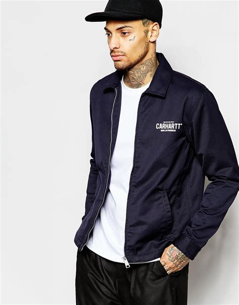 Sweater Carhart Roffico Cloth carhartt wip modular jacket in blue for lyst