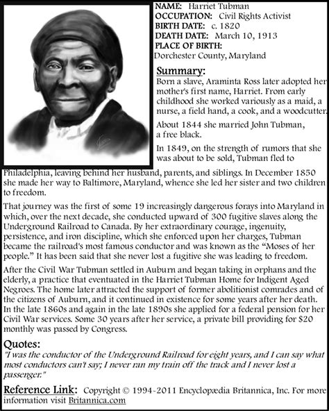 harriet tubman brief biography harriet ross tubman by zandkfan4ever57 on deviantart