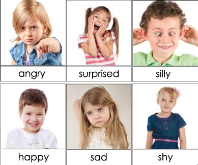 kids emotion faces found on missiekrissie blogspot it emotions and autism new research