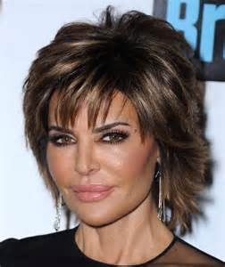 shoulder length straight hairstyles housewife of beverly hill back view of lisa rinna hairstyle hairstyles