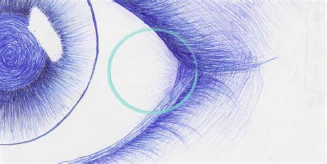 dibujos realistas boligrafo dibujo quot ojo quot a bol 237 grafo bic