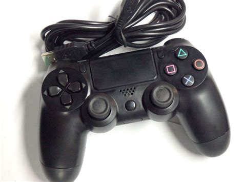 Controller Ps4 Wired how to use a ps4 controller on your pc filecluster how tos