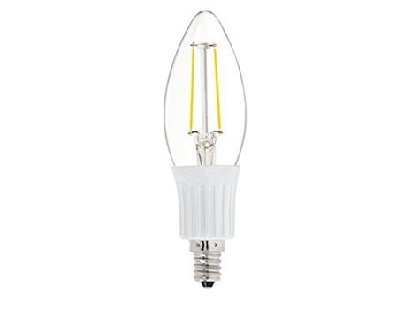 le 600 watt dc 12 volt c35 e12 warm white 2700k 2 watt led filament