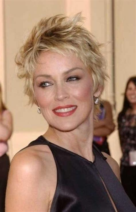 15 best hairstyles for women over 40 15 best ideas of short haircuts for fine hair over 40