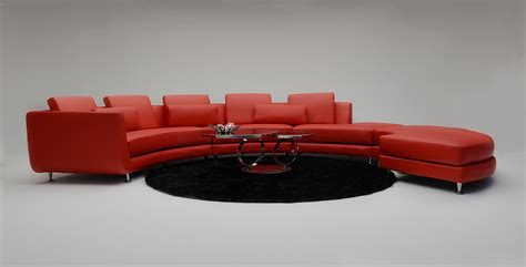 contemporary leather sectional sofa modern contemporary circle sectional sofa
