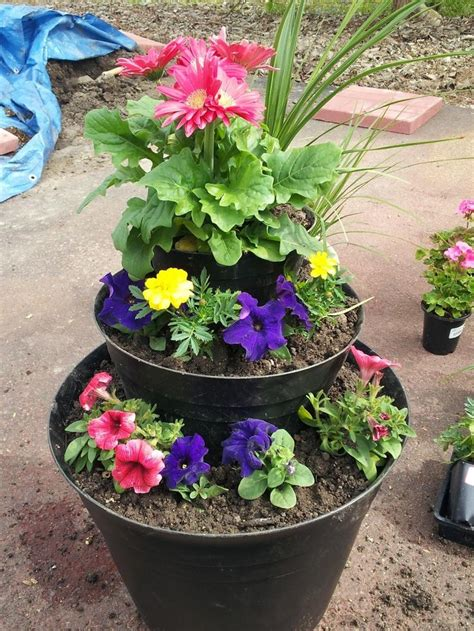 diy herb planter 17 best images about diy tiered planter on pinterest