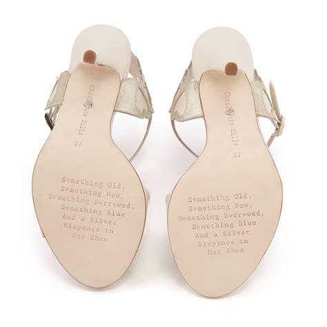 sixpence in shoe shoe heaven stylish wedding shoes with mills