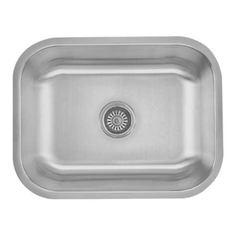 non scratch stainless steel sinks sinkware 18 single bowl undermount stainless