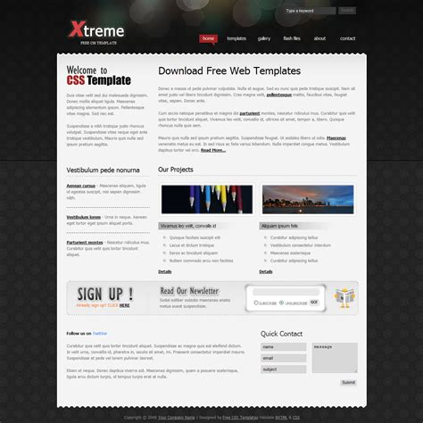 css layout free download download free professional web templates free css mailbackup