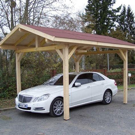 tettoia auto legno carport tettoia in legno 1 posto auto con copertura 3 00 x