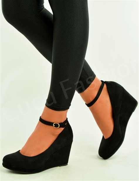 Wedge Pumps womens wedge pumps ankle high heels platform