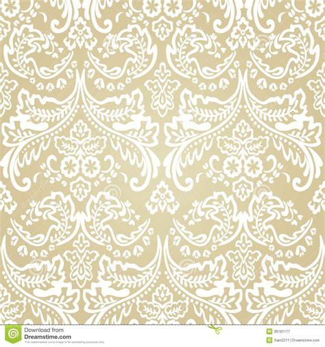 simple vintage pattern background damask vintage floral seamless pattern background stock
