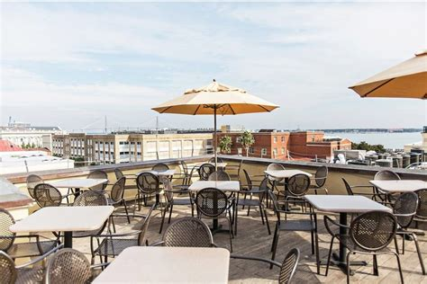 bayside high the 16 best rooftop bars in charleston sc