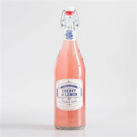 Furniture And Home Decor Stores artisanal cherry and lemon french soda world market