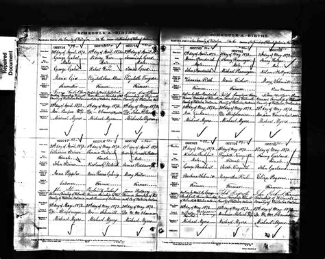 Ontario Canada Birth Records Buchheit History