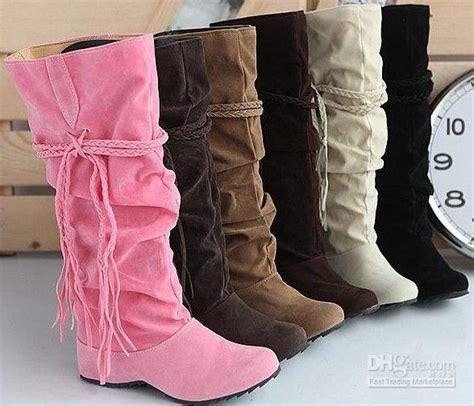 Best Seller Wefges Boots Yy02 best seller tassels nubbuck high heel boots for knee