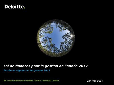 Pr 233 Sentation De La Loi De Finance 2017 Deloitte Deloitte Powerpoint Template 2017