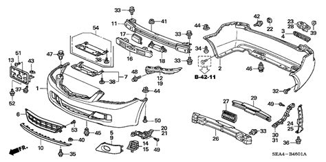 acura parts diagram 71102 sec a10zd genuine acura parts