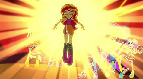 friendship games sunset shimmer     today