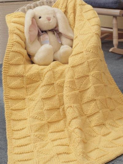 free baby knitting patterns blankets easy knit baby afghan pattern