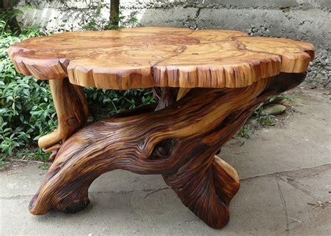 Tree Trunk Furniture Ideas awesome rustic furniture home design garden