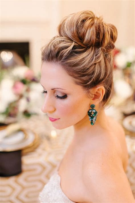 16 chic high updo wedding hairstyle ideas for brides i do hair style wedding hair