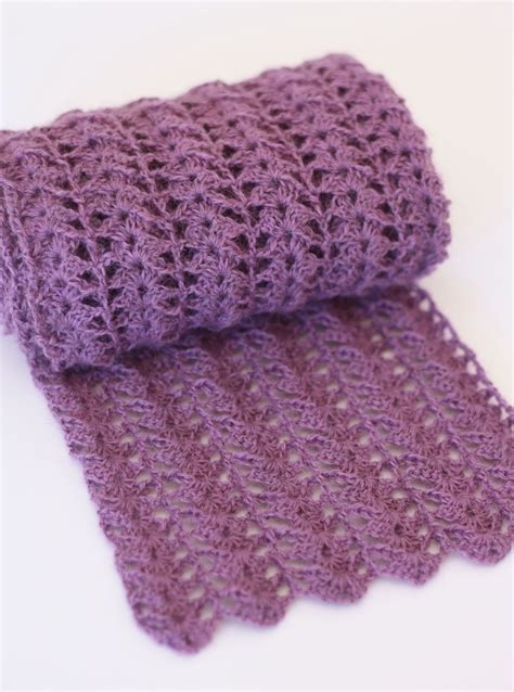 pattern of crochet 10 free crochet scarf patterns the lavender chair