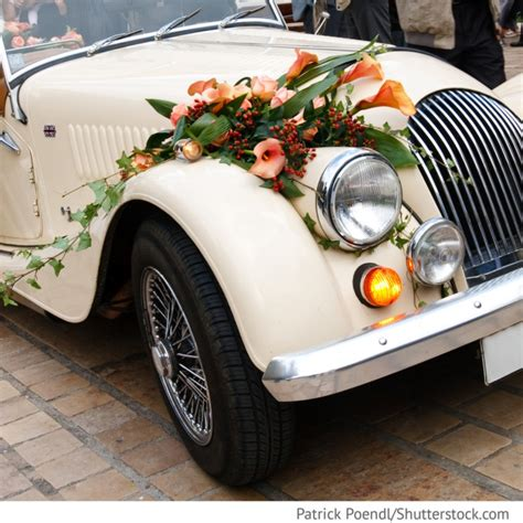 Hochzeitswagen Deko by Blumenschmuck F 252 R Hochzeitsauto Oldtimer Deko Mit Blumen