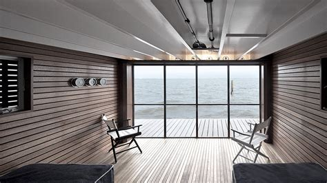 martin architects bay view boathouse martin architects pc archinect