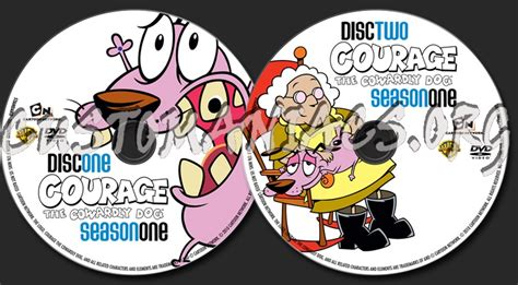 courage the cowardly season 1 forum tv show scanned labels page 11 dvd covers labels by customaniacs