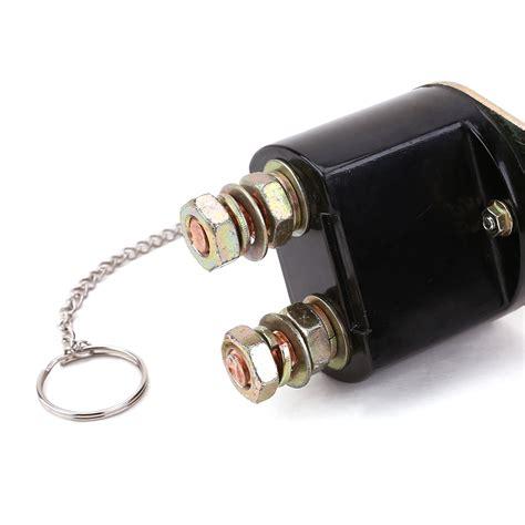 car kill switch kit tir master battery isolator cut out off kill switch kit
