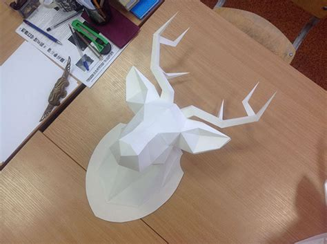 How To Make A Deer Out Of Paper - my dear deer paper craft