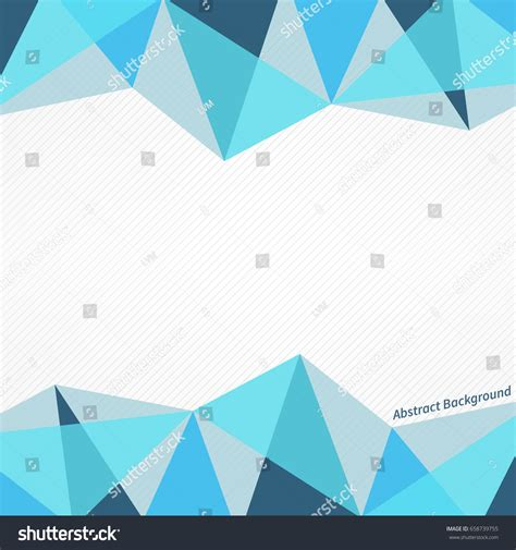 abstract pattern for project abstract vector polygonal blue pattern on stock vector
