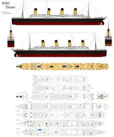 Papercraft Titanic - titanic on paper models titanic sinking and