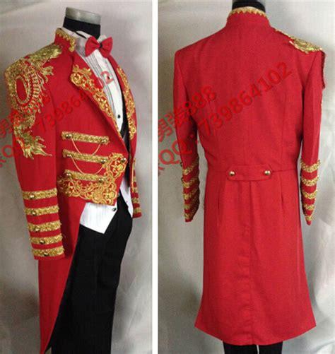 Hoodie Homecoming Anggita Fashion magic royal tuxedo formal gold decoration dress pigeon magic jacket magician clothing