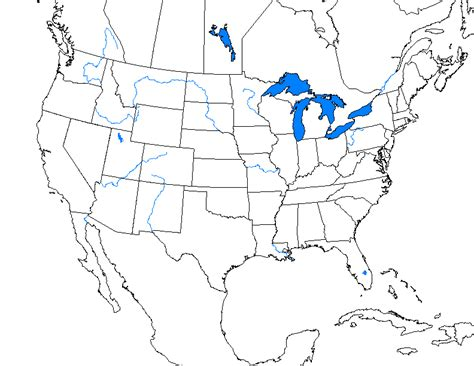 united states outline map with rivers need a particular blank usa map alternate history