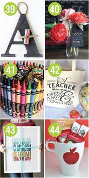 Gift Ideas For Teachers - 101 and easy appreciation ideas