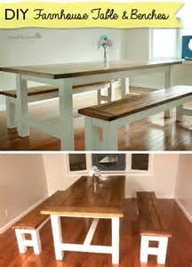 Kitchen Bench Diy 25 Best Ideas About Bench Kitchen Tables On