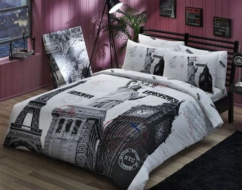 city themed comforter sets bedding on pinterest comforter sets paris bedding and
