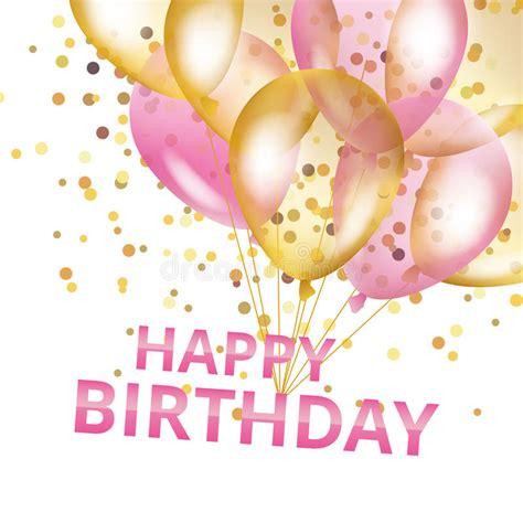Balloons happy birthday stock illustration illustration of greeting 80060418