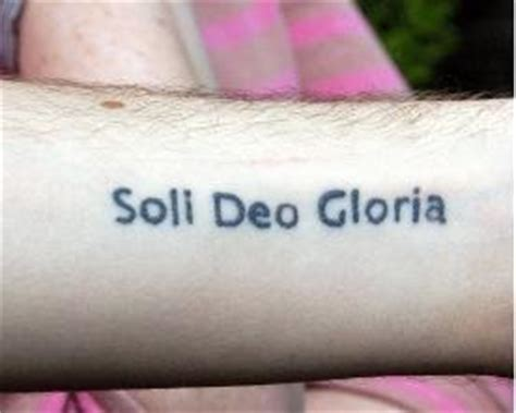 soli deo gloria tattoo news from farholme soli deo gloria