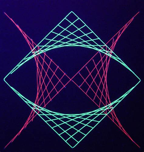 String Geometric Patterns - math geometric geometric string design 5 from