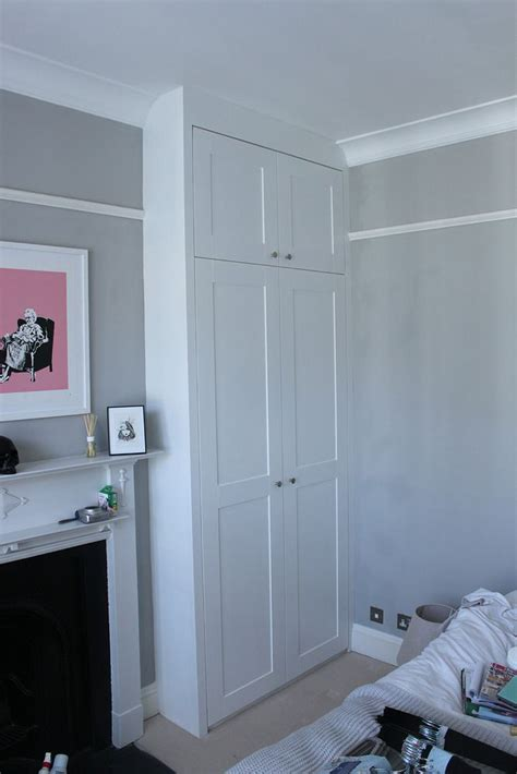 alcove bedroom alcove wardrobes with picture rail google search
