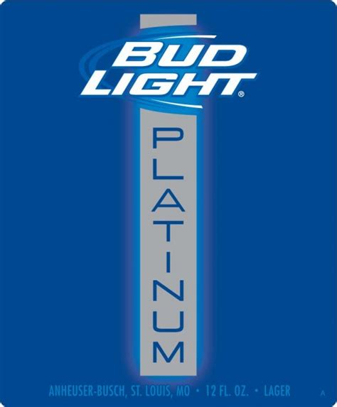 Bud Light Platinum Content by Brian S Belly New Bud Light Platinum Not So Light But