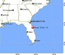 ponce inlet florida fl 32127 profile population maps