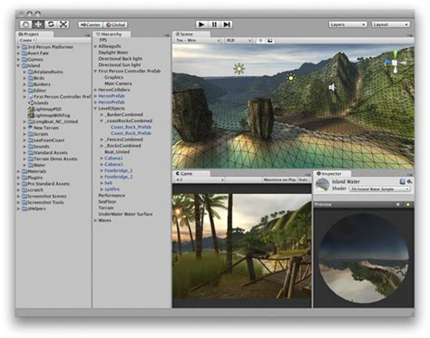 unity gui layout tutorial unity tutorial learning the interface indie db