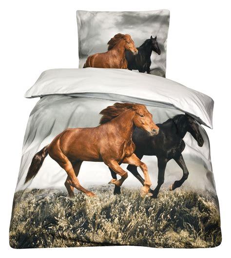 pferdebettwaesche horses  art