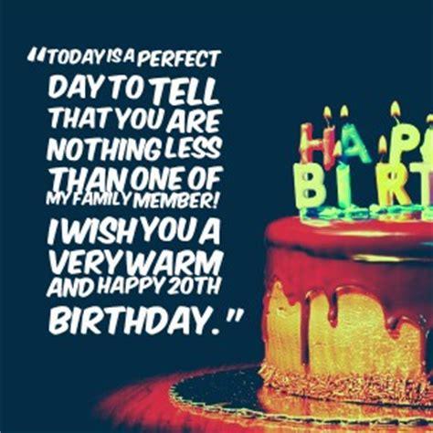 Happy Birthday 20 Years Quotes 20 Birthday Quotes Quotesgram