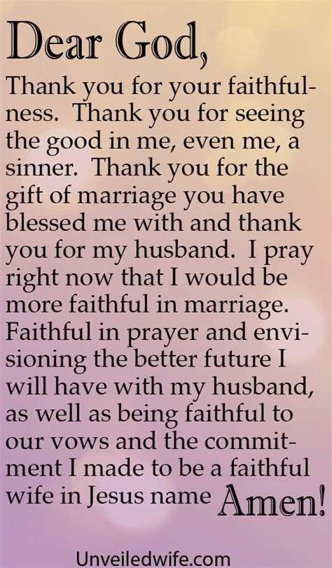 Commitment Letter To My Husband Prayer Of The Day Being Faithful In Marriage